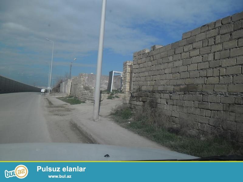 Binəqədidə, daş bazarının yanında, 2 hektar, özəl torpaq satılır...