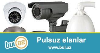 Tehlukesizlik kameralarinin qurasdirilmasi,sifarisi,catdirilmasi,3 il zemanetle<br /> HD,Ptz,Analoq,IP-kameralarin telefonla izlenmesi,yaddas karti ve diviar