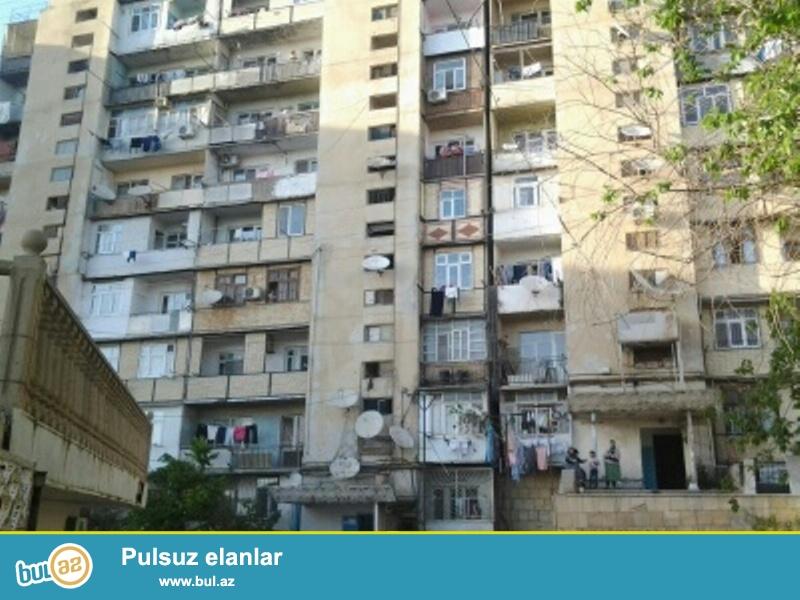 Продается 2-х комнатная квартира, по проспекту Гянджа, около д/т «ФАРИДА», ленинградский проект, 1/9, общая площадь 60 кв...
