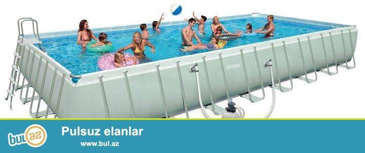 Компания Intex представляет линейку прямоугольных бассейнов, условно разделяя ее на два класса продуктов...