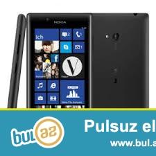 Nokia 720 satiram ella ishleyir ella zeryatqa saxlayir 2 gun en azi cekilishi elladi super ve temiz cekir internete guclu girir ekranin sensirinde catlar var amma ishlemeyine manecilik toretmir ekranin goruntusunde problem yoxdur temiz gorsetir sadece sensirinde catlar var belede ishletmek olar manecilik toretmir 35 azne verirem son qiymetdi...