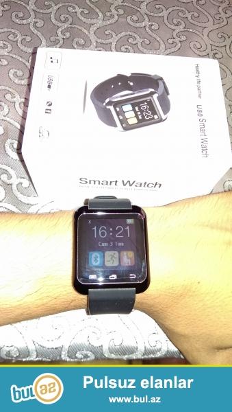 Salam. Smart watch U 80 android sistemli agilli saat satilir...
