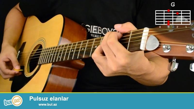 Serfeli qiymete gitara dersleri.<br /> 4il tecrubem var 2-3 aya gitarada rahat ifa ede bilersiniz...