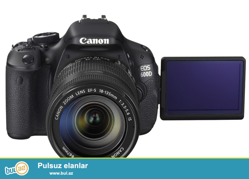 İstehsalçı:Canon<br /> Meqapiksel:18<br /> Kamera tipi:Guzgulu TTL<br /> Matrisin tipi:22...