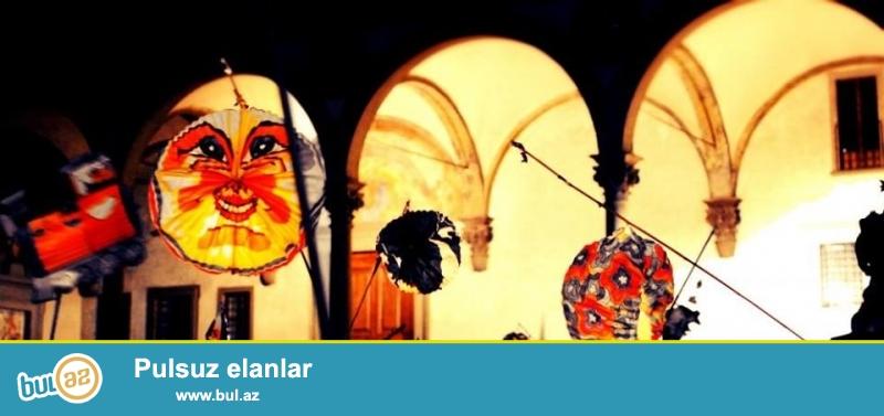 """FLORENSİYA+ ROMA turunu əldə edərək Siz həmçinin İtaliyada keçirilən iki möhtəşəm bayramda iştirak edə bilərsiniz:<br /> ROMADA """"Ağ gecə"""" festivalı<br /> =======================<br /> Romada (La Notte Bianca a Roma) – bu məşhur festivaldır, hansı ki, hər il sentyabrın ikinci bazar gününə təsaduf edir..."""
