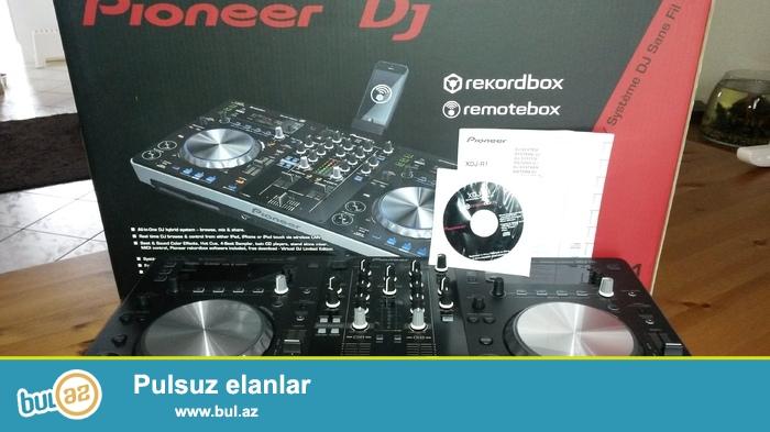 DJ Controller satiram tezedir - 2014 modeli <br /> Wi FI la isleir<br /> CD ve Flash kartla <br /> Noutbukla da ishleyir<br /> Tezedir karobkanin icinde  <br /> iki defe  banketlerde istifade olunub<br /> Virtual DJ ve Tracktor pro ile ishleyir
