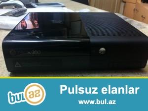 X box-360 oyun kompyuteri+ original pult+ oyun diskləri əla vəziyyətdədir.
