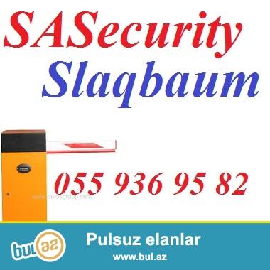 Slaqbaum. <br /> <br /> SASecurity sirketi avtomotik maneeler – slaqbaumlar teklif edir...
