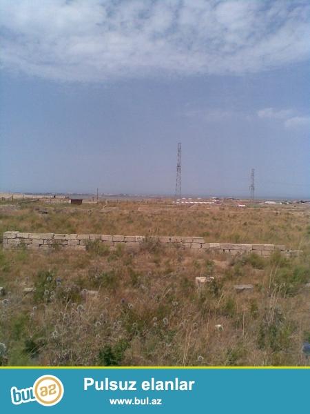 Torpaq sahəsi magistral yola yaxındır. Sahədə elektrik, qaz ve telefon xətləri mövcuddur...