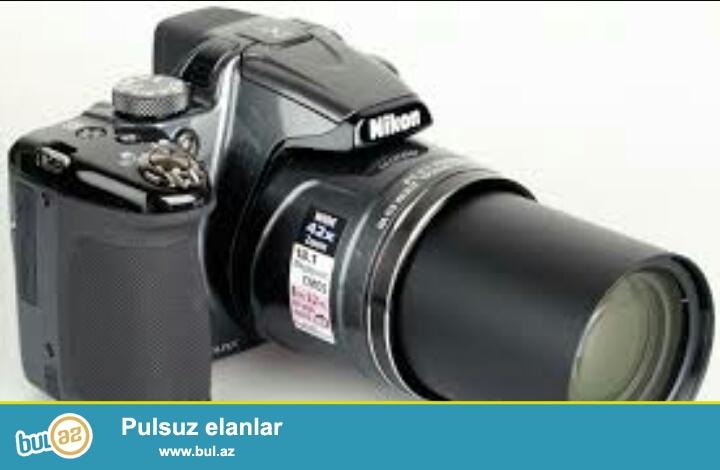 NIKKOR 42X WIDE OPTICAL ZOOM ED VR 4.3-180mm 1:3-5.9<br /> Nikon P510 modeli.Gozel temiz cekiliwli...