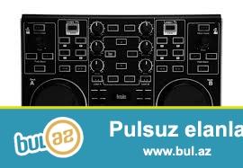 Yeni Karobkanin icinde DJ controllerdi<br /> Ancaq noutbuka ve PC ishletmek olur<br /> Almaniyadan getirilib<br /> Giymeti sondur<br /> + Lesenziya programi ustunde