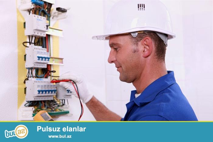 Услуги электрика на дом услуги всех видов электромонтажных работ .