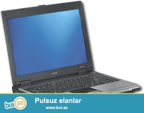 Acer3680<br /> Pro:intel<br /> Ram:1GB<br /> Vga:Intel<br /> Hdd:40GB<br /> Zaratka saxlayir...