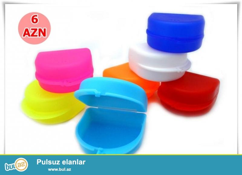 Diş protez qabı-İNDİ 6 AZN
