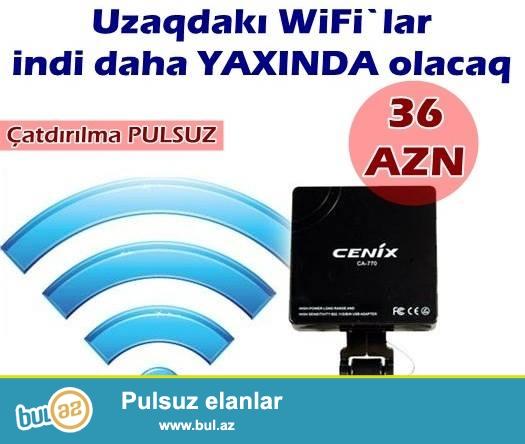 Wifi tutucu-İNDİ 36 AZN