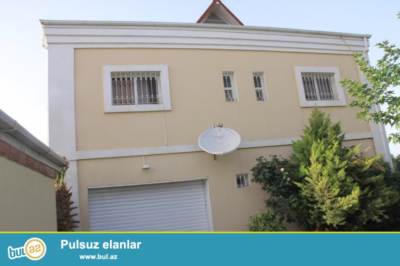 Срочно! Во 2-ом массиве Бадамдара сдается в аренду 2-х этажная, 6-и комнатная, площадью 450 квадрат, с евро ремонтом вилла...
