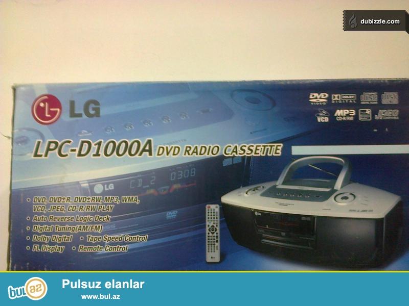 Bumboks - Бумбокс LG<br /> 130 AZN<br /> Кассета CD/DVD Радио Пульт