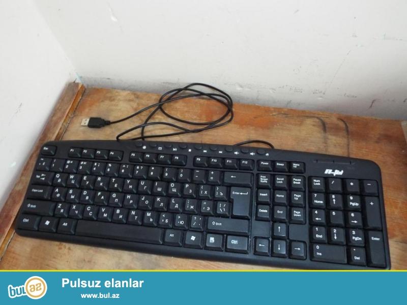 2 ay isledilmis komputer klaviaturasi.