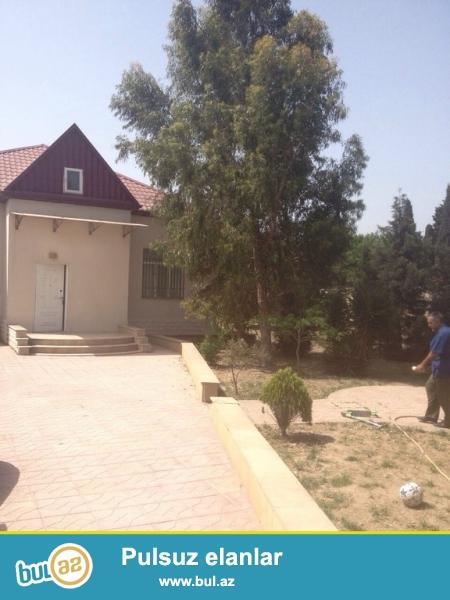 Для очень солидных клиентов ! В поселке Мардакан , рядом с санаторией Гарангуш , продается 1- но этажный, площадью 120 кв...