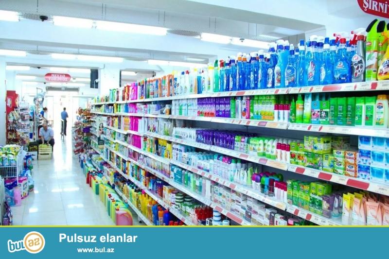 Super market satılır, 675 kv 1 mərtəbə, podval 675 kv, ümümi 1350 kv, əlavə 3 sot torpaq sahesi var, qeyri yaşayış kupcası var...