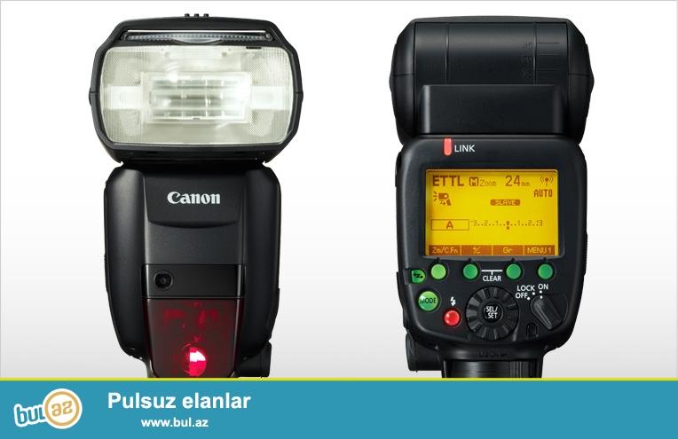 Canon flash 600 EX RT II satilir - 500azn <br /> Teze KAropkada Amerkadan Getrilib senetleride var <br /> Mob: 055 9512002