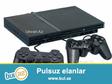 PS 2 Satiram hec bir problemi yoxdur ustunde 3 pult 1 nin veziyyeti yaxsidir 2-de normal 1 8 GB yaddaw karti texmini 15 oyun diski verirem DVD baxmaq olur saxta diskleride goturur