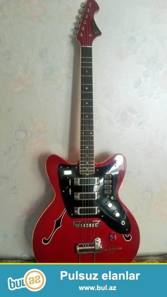 Gitara Rusiyadan Getizdirilib. Temiz Gitaradi.Istediyiniz yerde yoxlada bilersiniz ...