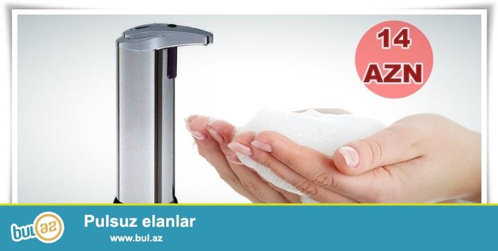 Sensorlu sabunluq-İNDİ 14 AZN