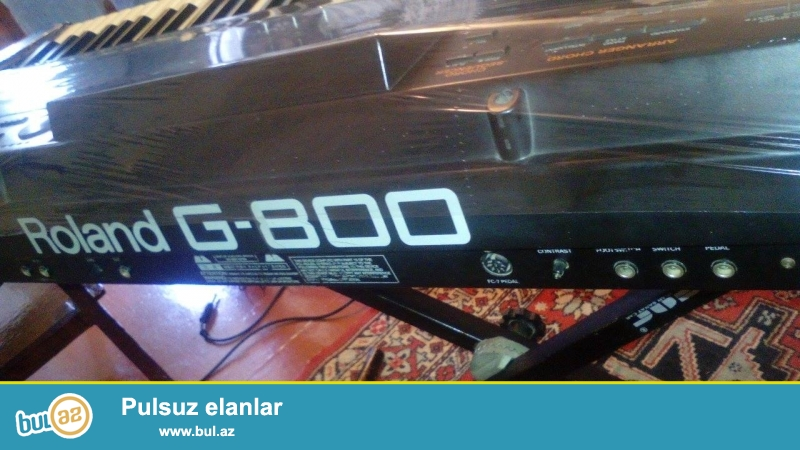 Tecili Roland G800 YAXSI VEZIYETDE USDUNDE CXOL AYAQ DISKET VERILIR