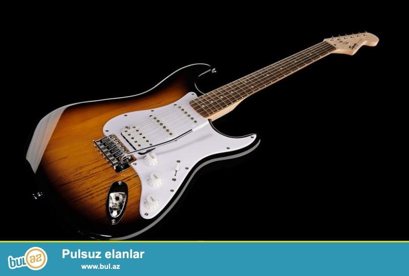 Fender Squier Bullet <br /> <br /> Məhşur Fener firmasinin xüsusi olaraq Yeni başlayanlar və həvəskarlar üçün  Fender Squier Bullet  moldeli...