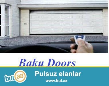Baku Doors size qaraj qapilarinin sifarisi, satisi ve qurasdirilmasini teklif edir...