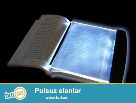 Led kitab oxumağa işığı-İNDİ 4 AZN