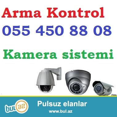 Guvenlik kameralari – satis ve qurasdirma<br /> <br /> Arma Kontrol sirketi her bir obyek, ev ve s...