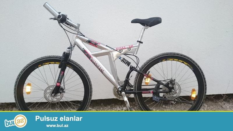 Almanıya brendidir,  Dağ velosipedidir,Alüminium rama, çox dözümlü velosipeddir...