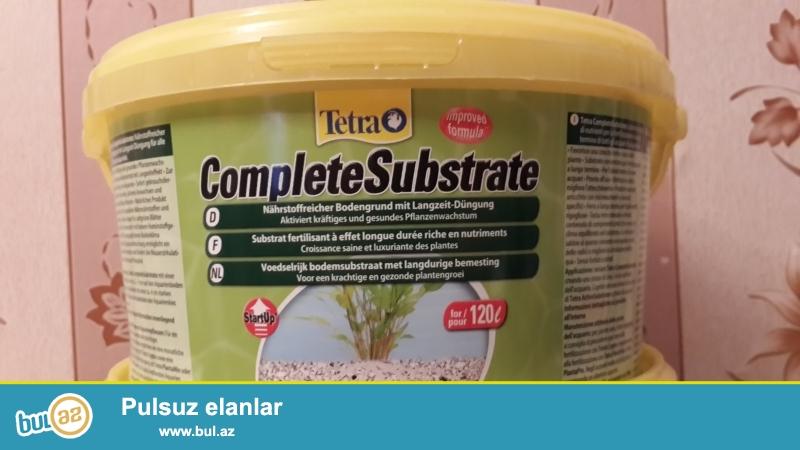 Грунт питательный TetraPlant CompleteSubstrate - комплексный, питательный субстрат для выращивания растений...