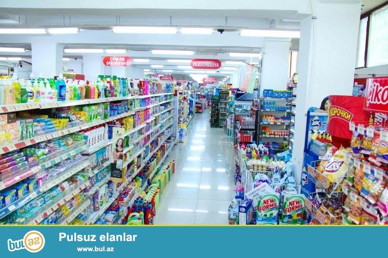 Продается   супермаркет в Йени Гюнешли, недалеко от мечети...