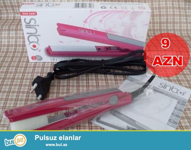 Sinbo mini saç duzləndirici-İNDİ 9 AZN
