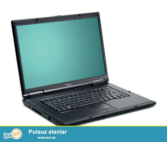Fujitsu-5535<br /> Pro:intel<br /> Ram:1GB<br /> Vga:Intel<br /> Hdd:80GB<br /> Zaratka saxlamir...