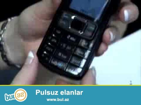 Nokia 3110 aşagı qiymətə satılır. Foto video çəkiliş mümkündür...