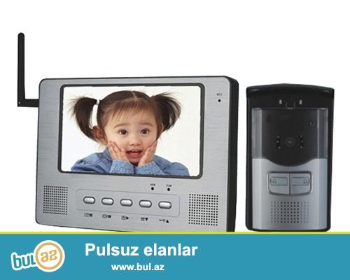 VIP Electronics & Security systems Sizə VİDEODOMAFON sistemlərini təklif edir...