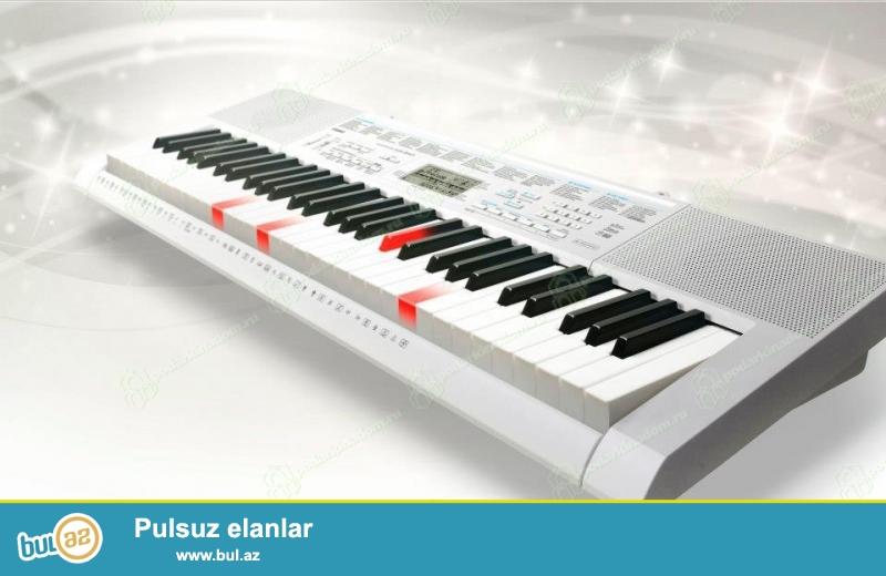 Casio sirketine mexsis LK-247 modeli<br /> Yeni oyrenen ve Heveskar pianocular ucun...