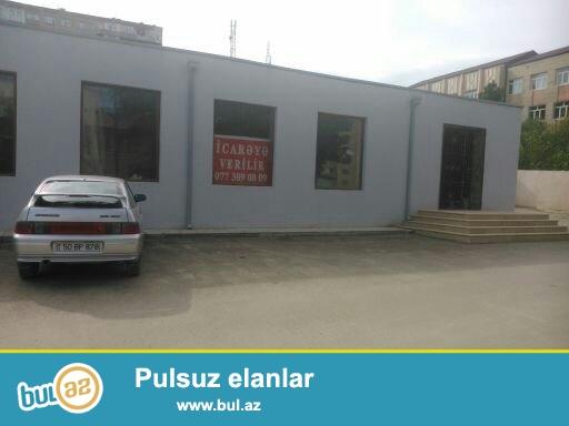 Müşfiqabad qəsəbəsinin mərkəzində 650kv.m sahəsi olan obyekt təcili satılır...