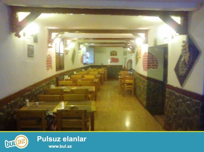 Сдается готовое кафе в Ясамальском районе, по проспекту Тбилиси, рядом с парком Измир...