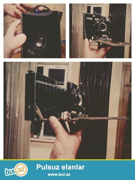 1917-1920-ci illərə aid Leninqradın Otokor-1 fotoaparatı ilk buraxılışı...