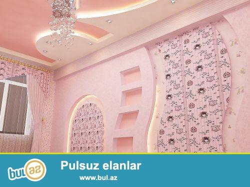 Azerbaycanin Istenilen Erazisinde is gotururem. evi sifirdan tam temin edib sizlere tefil verirem...