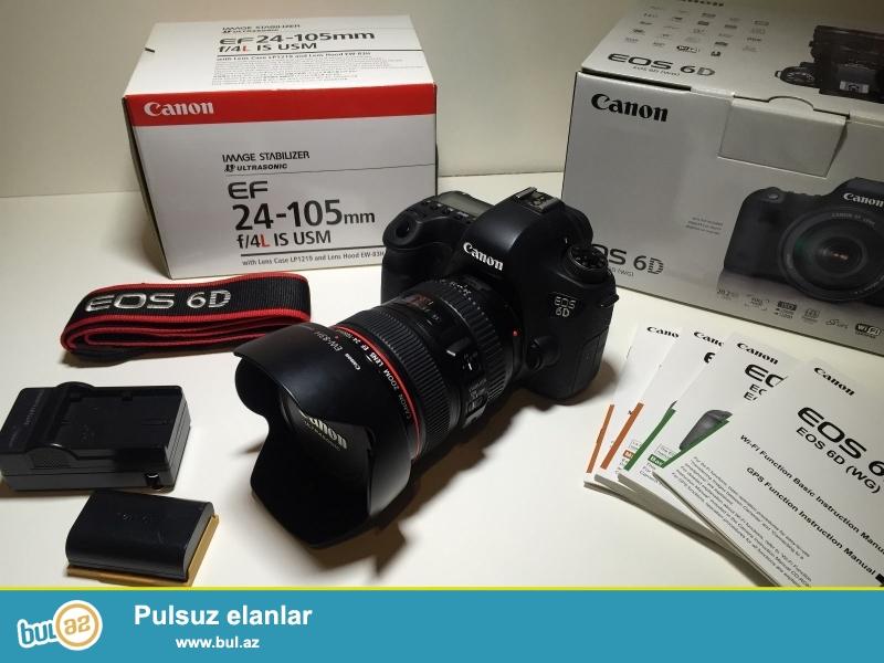 Canon EOS 6D цифровой камеры Canon 24-105 mm тела<br /> <br /> За дополнительной информацией обращайтесь US непосредственно нашим:<br /> <br /> E-mail: Tradeassurance05@gmail...