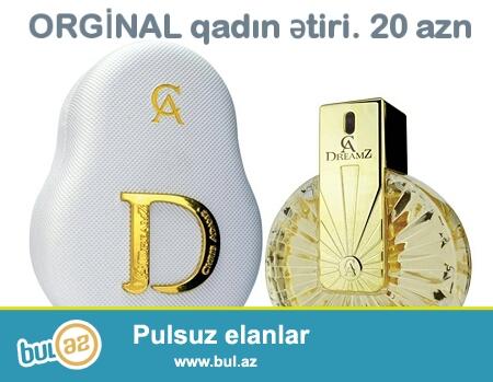 Orginal dubay və türk ətirləri<br /> 3 ətir 54 azn<br /> 4 ətir 68 azn<br /> 5 ətir 80 azn<br />
