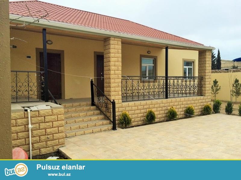 Срочно! Продается  1-но этажный  3-х комнатный частный дом в посёлке Шувалан  - гюлчилий  то есть за Шувалан парком ...