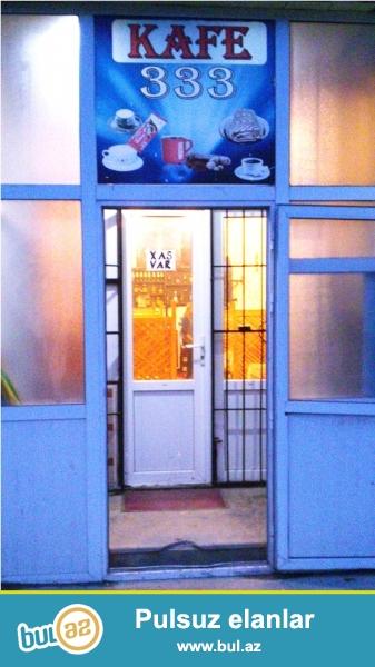 Tecili Nesimi rayonu,Ecemi metrosuna yaxin,Navastroykanin altinda Kafe satiram,70 k/m butun senedleri qaydasindadir...