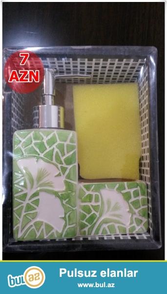Yaşıl sabunluq-İNDİ 7 AZN